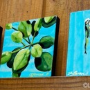 summer trio, 2011, acrylic