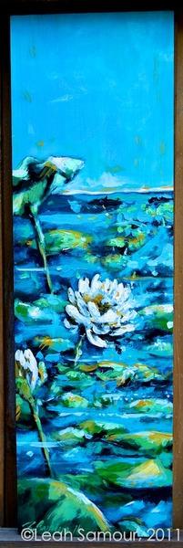 still waters, 2011, acrylic