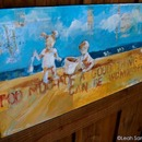 beach day  2012  acrylic and collage on canvas