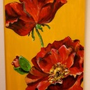 full bloom, 2011, acrylic
